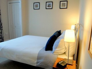 the Brae Lodge Double room is on the ground floor and is facing the rear of the guest house